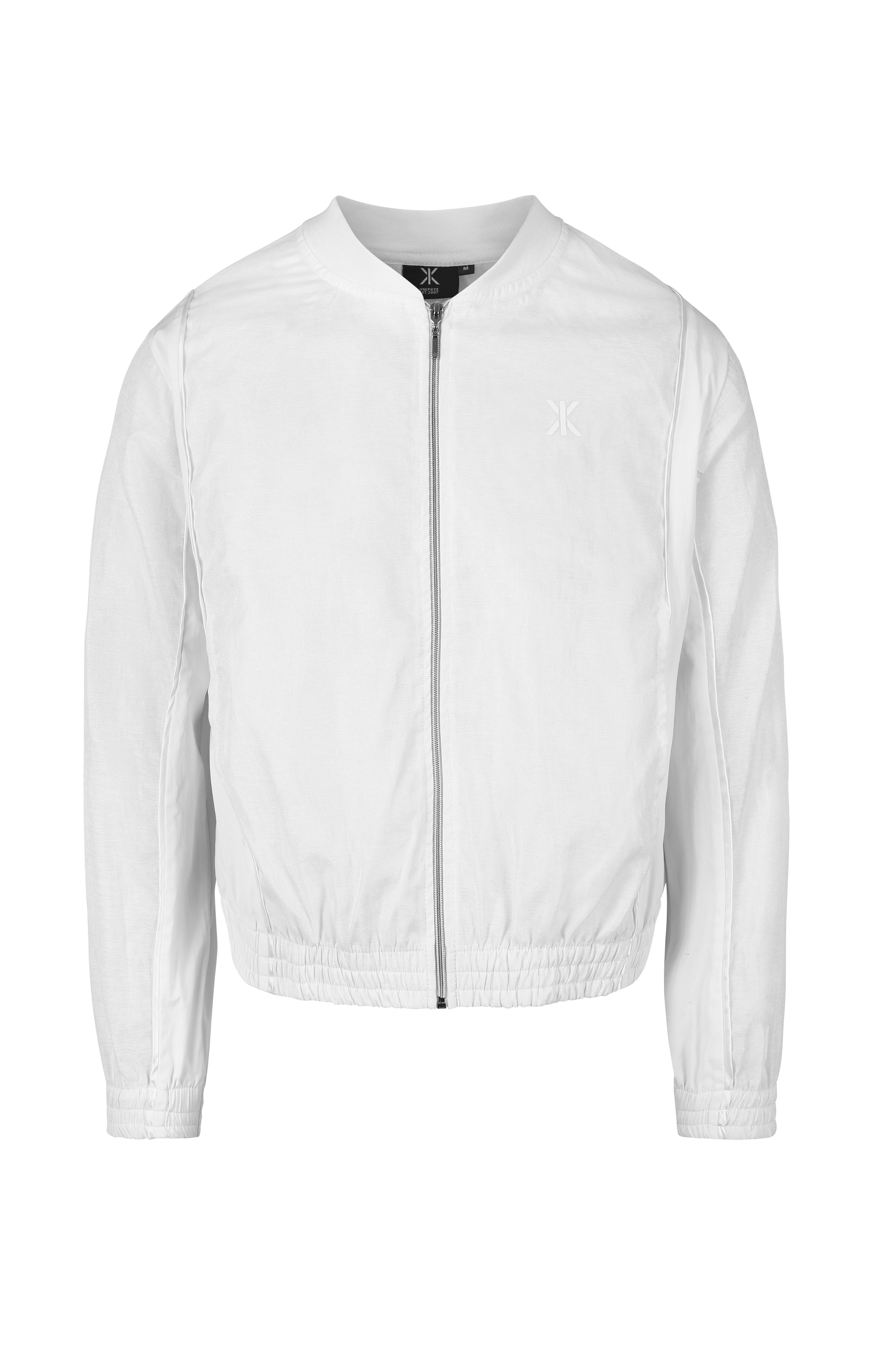 Luminous Bomber Jacket White