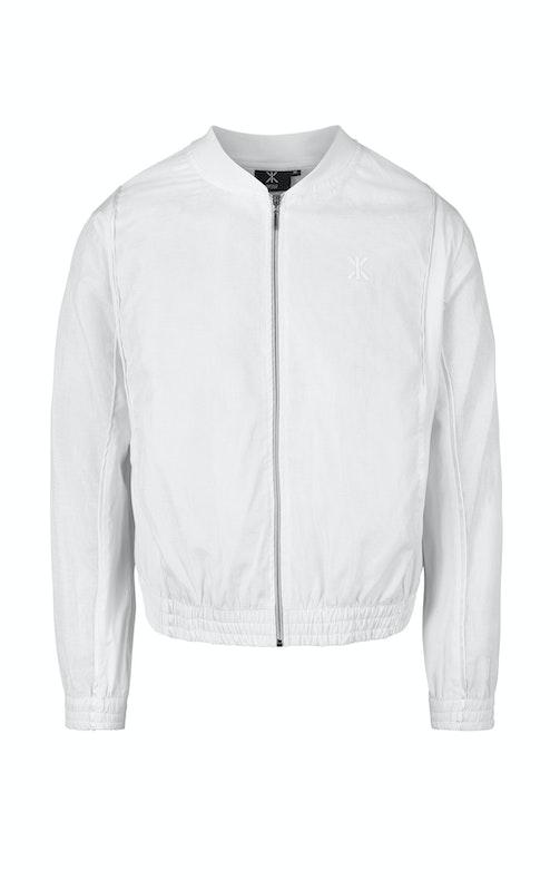 Onepiece Luminous Bomber Jacket White