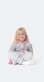 Onepiece Marius Kids Jumpsuit Snow White Melange