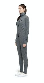 Onepiece Merino Jumpsuit Grey Melange