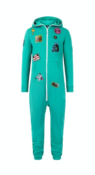 Onepiece Miami Patch Jumpsuit Green