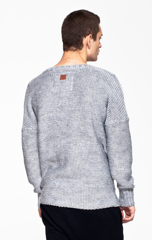 Onepiece Michael Knitted Sweater Mid grey