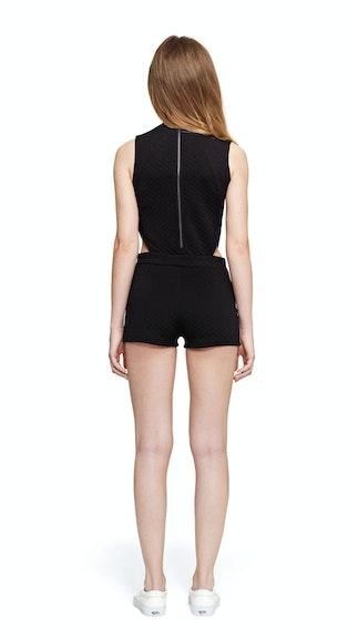 Onepiece Mould Jumpsuit Black