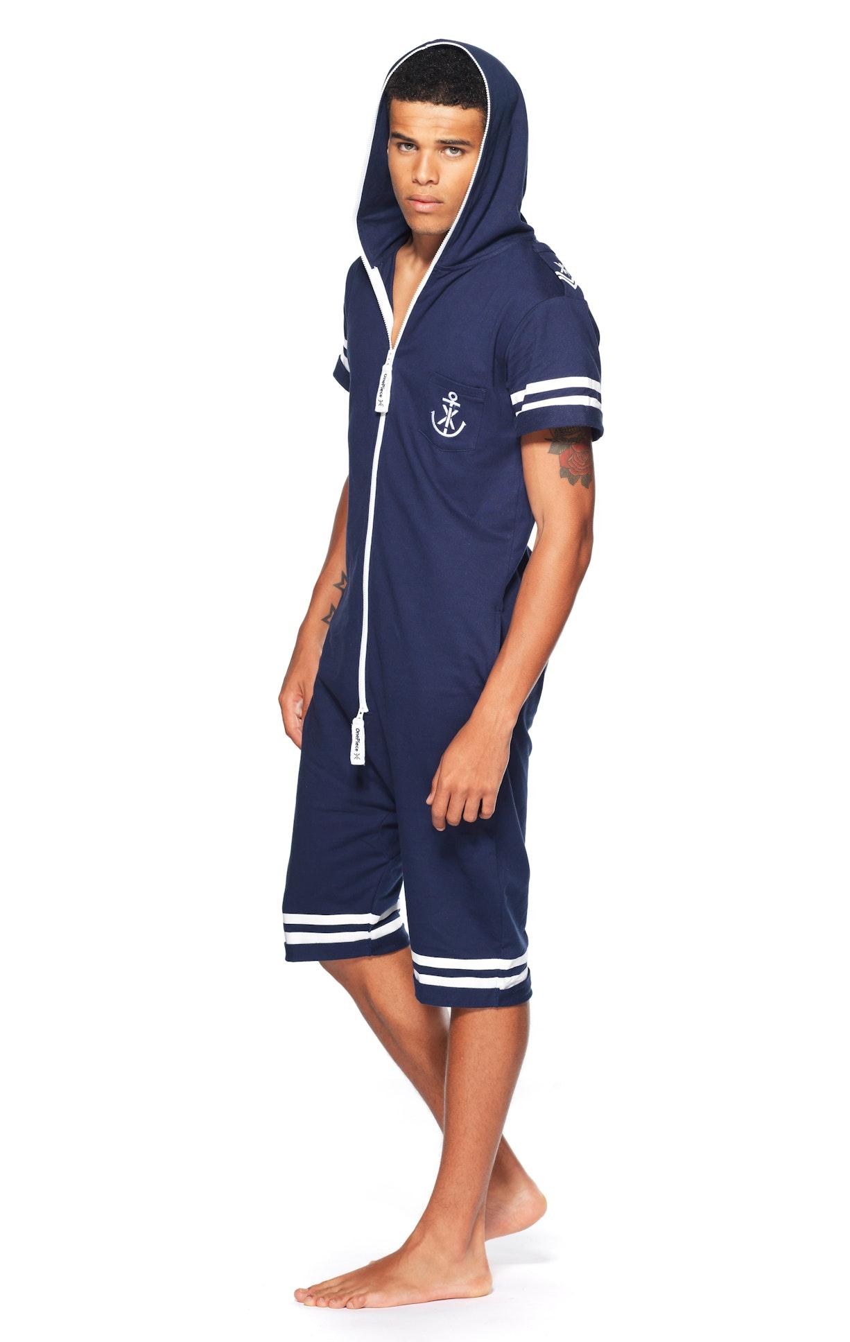 naval short jumpsuit midnight blue. Black Bedroom Furniture Sets. Home Design Ideas