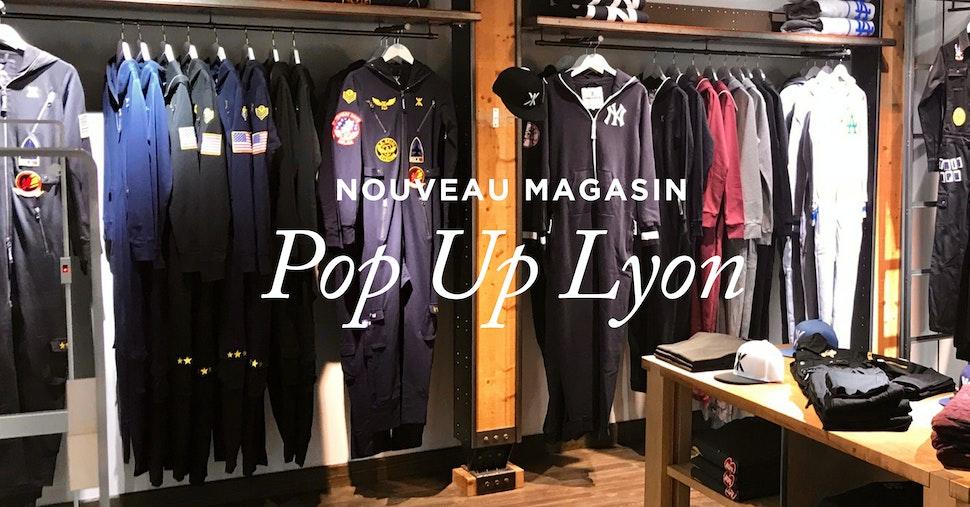Nouveau magasin Onepiece à Lyon