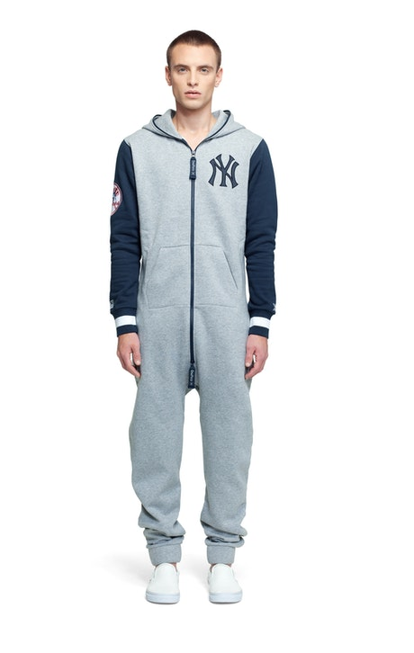 Onepiece NY College Jumpsuit Grey Melange