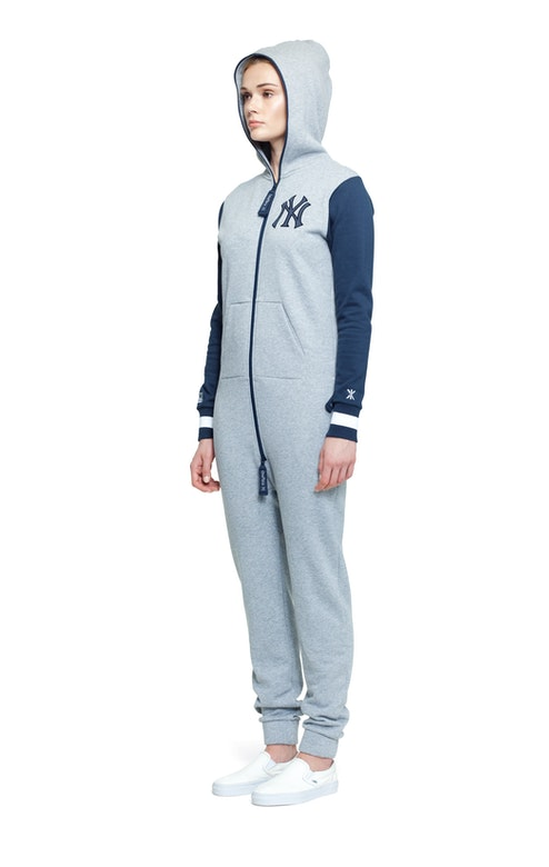 Onepiece NY College Jumpsuit Grey Melange