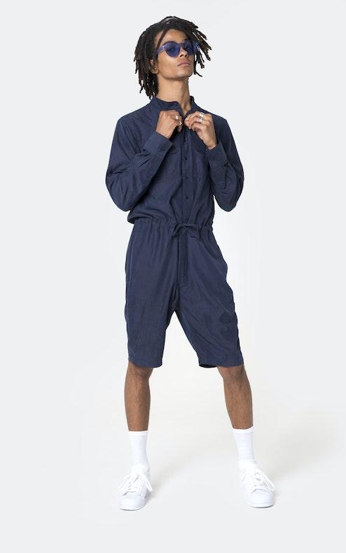 Onepiece Ocean Jumpsuit Navy