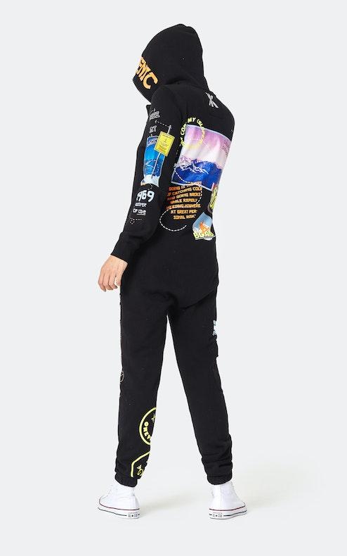 Onepiece Off Piste Jumpsuit Black