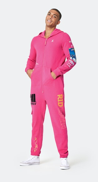 Onepiece Off Piste Jumpsuit Pink