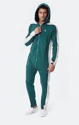 Onepiece Old School Jumpsuit DK Green