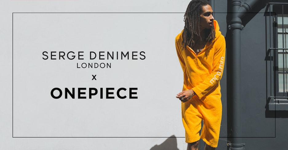 Onepiece launches their collab with Serge DeNimes!