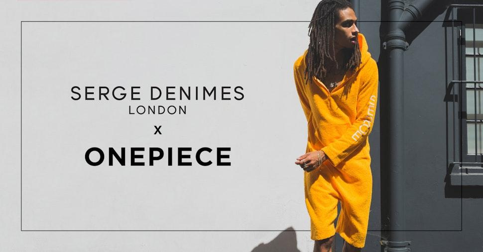 Onepiece veröffentlicht Kollaboration mit Londoner Label Serge DeNimes