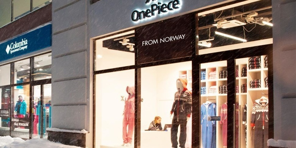 Onepiece Olympic Concept Store, Sochi, Russia.
