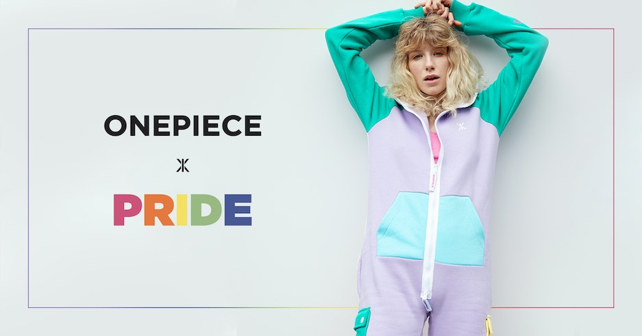 Onepiece partners with LGBT charity for Pride