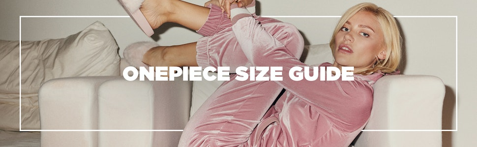 Onesie size guide by Onepiece