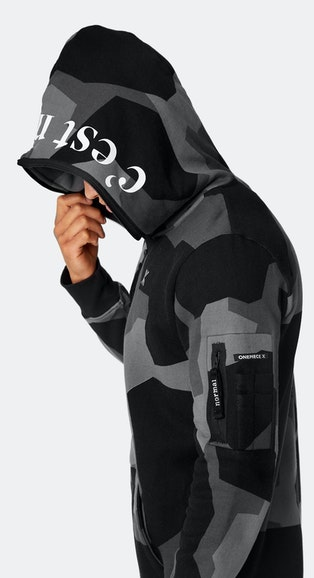 Onepiece Onepiece x C'est Normal by Jon Olsson Black Camo