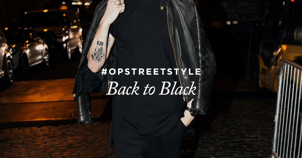 Onepiece street style back to black