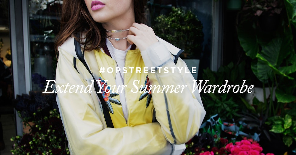 Onepiece Influence rain jacket in transparent frostend featured in Streetstyle session