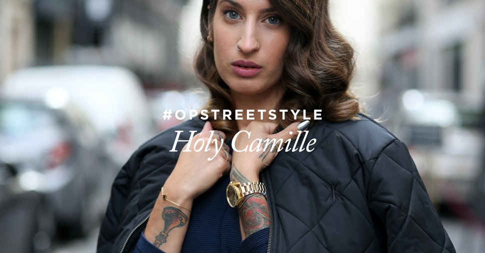 onepiece opstreetstyle holy camille blogger grip jacket bomber