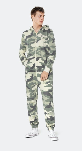 Onepiece Original Camo jumpsuit Army Camo