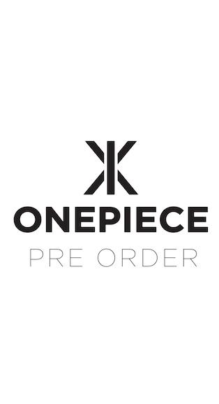 Onepiece Original Slim Onesie 2.0 Schwarz
