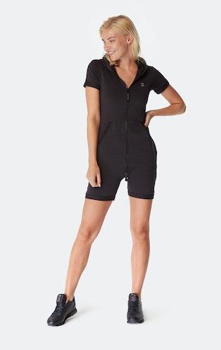 Onepiece Original Slim Short Jumpsuit Black