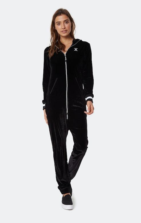 Onepiece Original Velour Jumpsuit Black