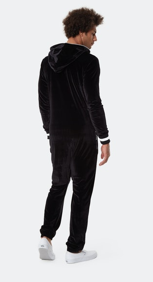 Onepiece Original Velour Jumpsuit Schwarz