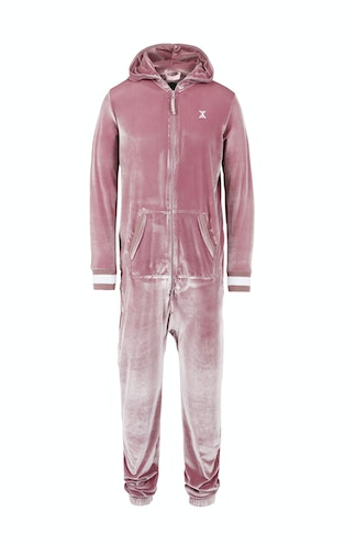 Onepiece Original Velour Jumpsuit Faded Pink