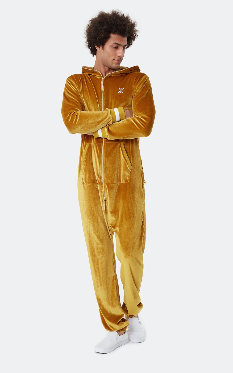 Original Velour Jumpsuit Gold