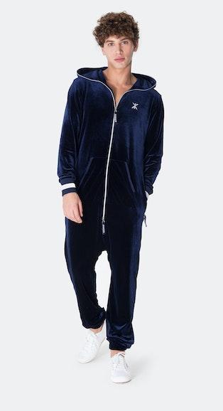 Onepiece Original Velour Jumpsuit Navy