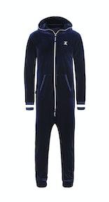 Onepiece Original Velour Jumpsuit Marineblau
