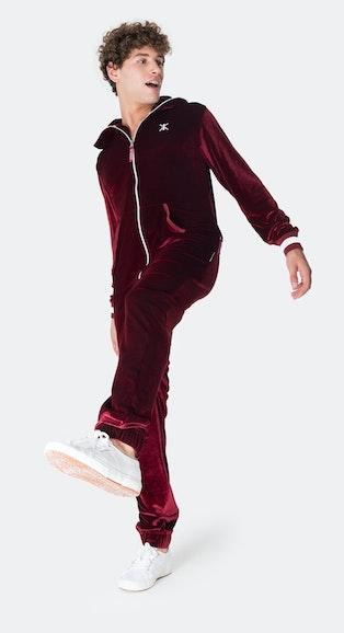 Onepiece Original Velour Jumpsuit Rot