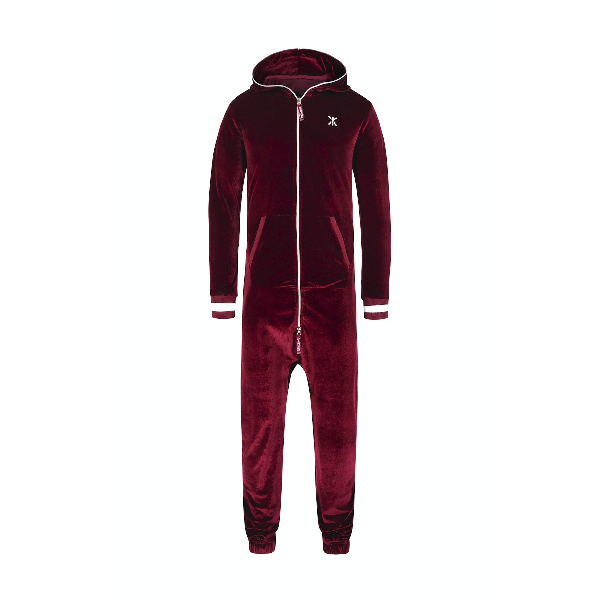 Original Velour Jumpsuit Red Onepiece Premium Onesies