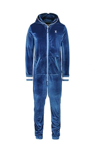 Onepiece Original Velour Jumpsuit Blaugrün