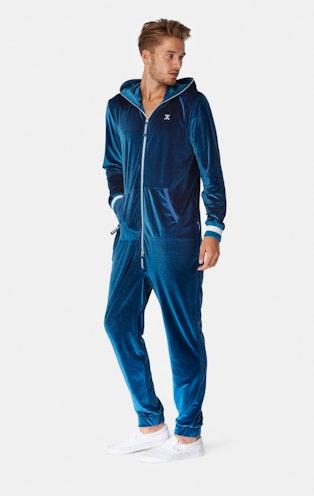 Onepiece Original Velour Jumpsuit Teal