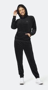 Onepiece Original Velvet hoodie Black