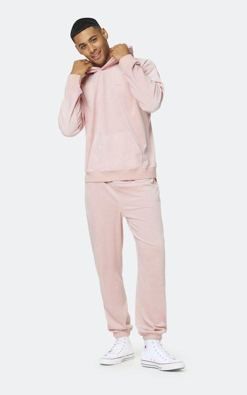 Onepiece Original Velvet hoodie Pink