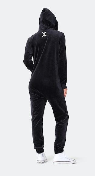 Onepiece Original Velvet jumpsuit Black