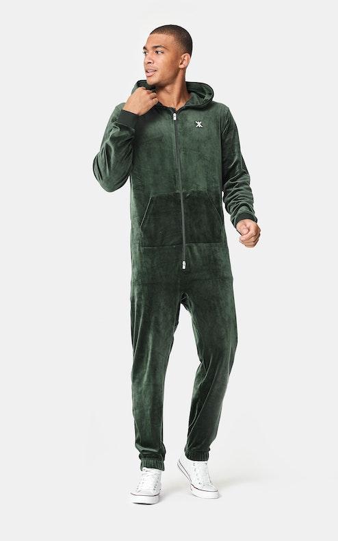 Onepiece Original Velvet Jumpsuit Green