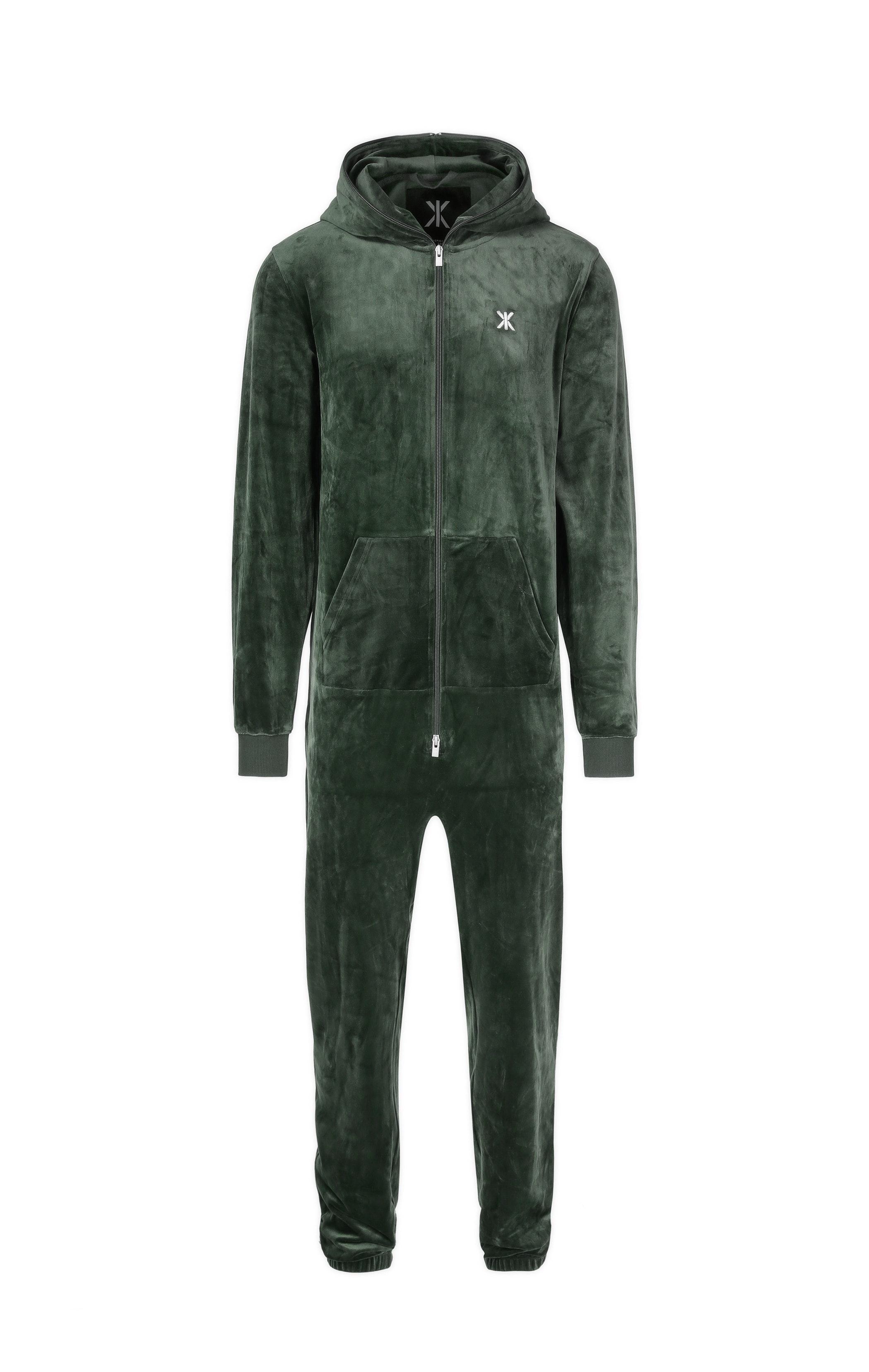 Original Velvet Jumpsuit Navy