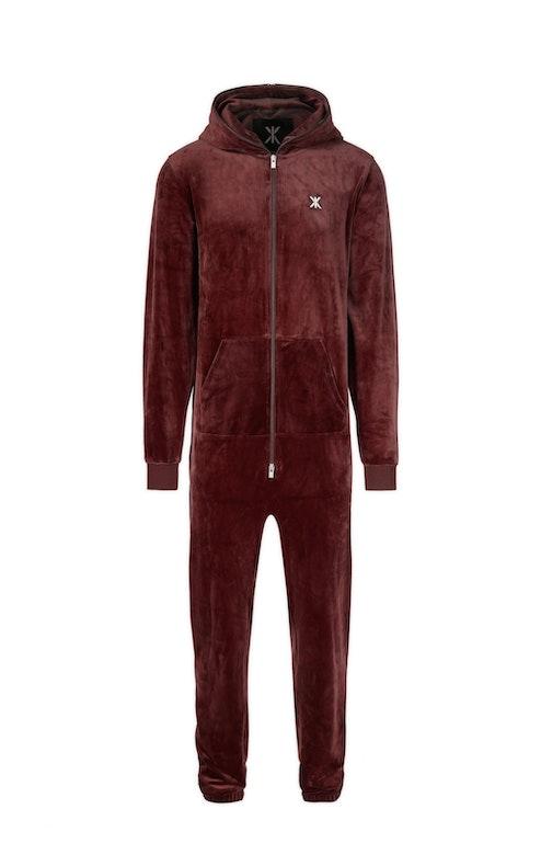 Onepiece Original Velvet Jumpsuit Red