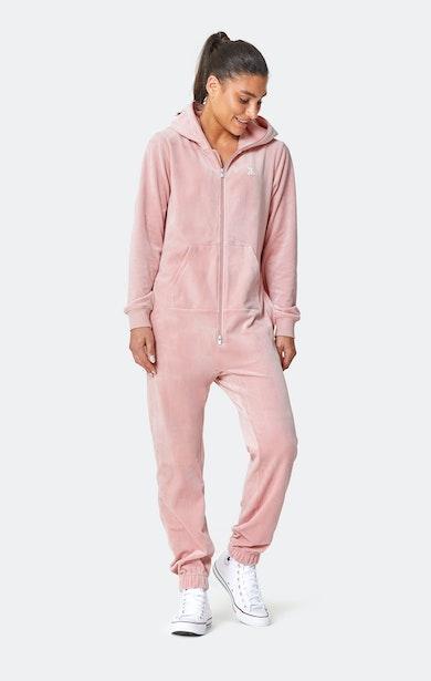 Onepiece Original Velvet jumpsuit Soft Pink