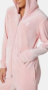 Onepiece Original Velvet jumpsuit Weiches Rosa
