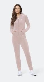 Onepiece Original Velvet Slim Jumpsuit Pink