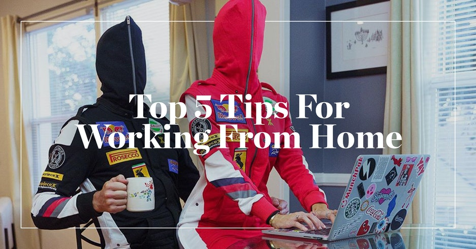 Our Top 5 Tips For Working From Home I Onepiece