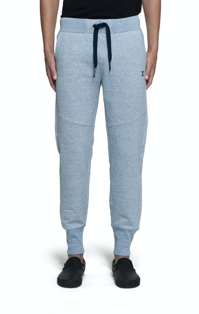 Onepiece Out Basic Pant Light Blue Melange