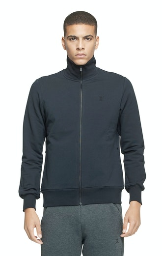 Onepiece Out High Neck Zip BLACK