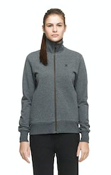 Onepiece Out High Neck Zip Gris foncé chiné